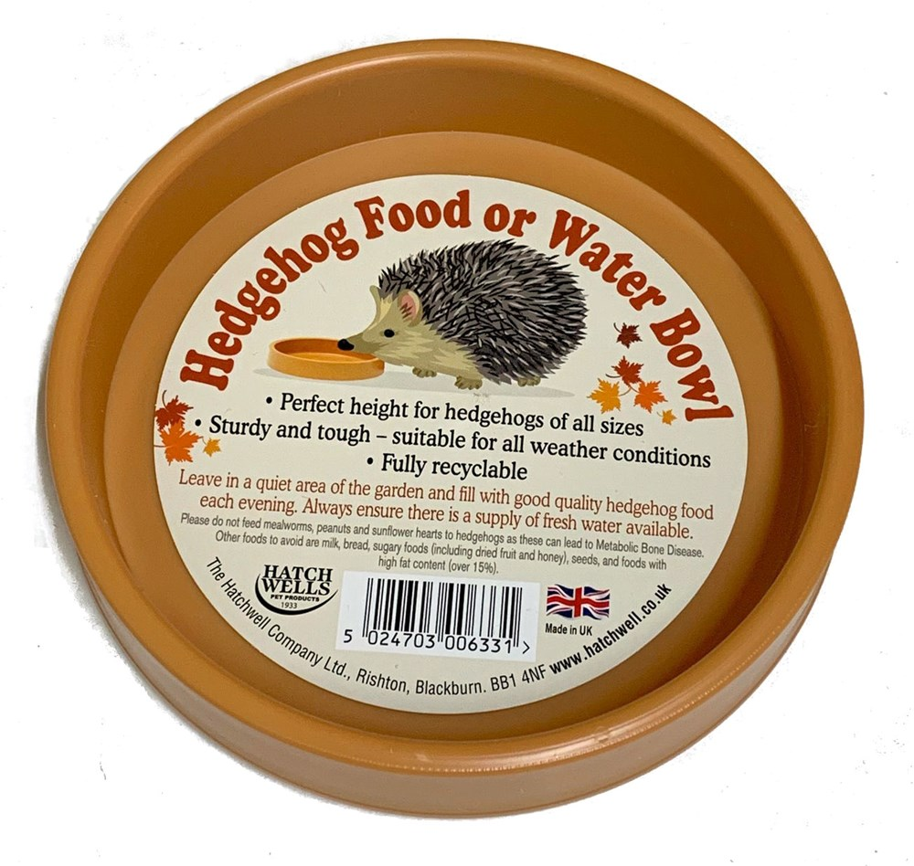 HEDGEHOG FOOD/WATER BOWL