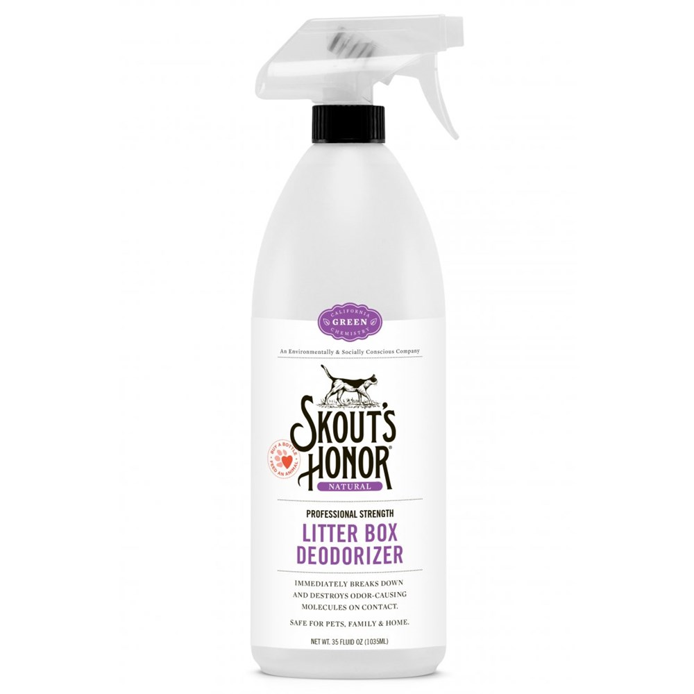 Skouts Honor Litter Box Deoderiser 1035ml
