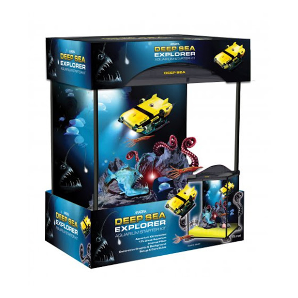 MARINA DEEP SEA EXPLORER AQUARIUM KIT17L