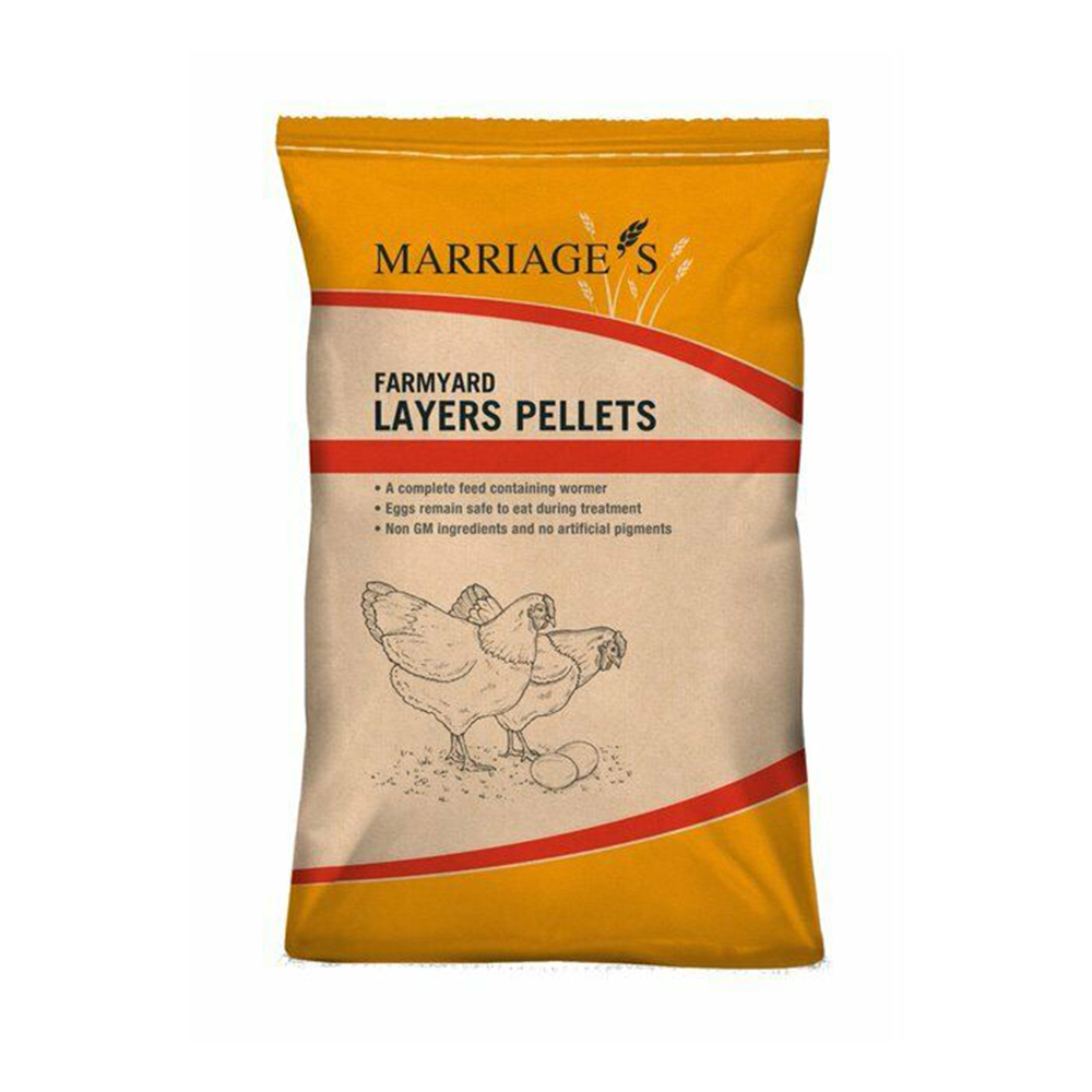 Marriages Layers Pellets With Flubenvet 10KG