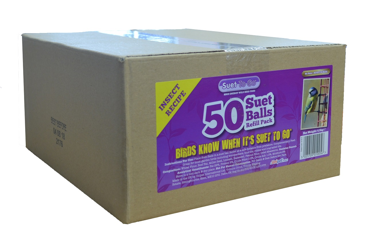 Insect Suet Fat Balls Pack 50