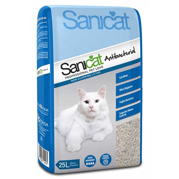 Kitty Friend Anti Bacterial Cat Litter 25L